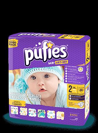 Детские подгузники Puffies