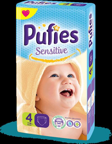 Детские подгузники Puffies Sensitive